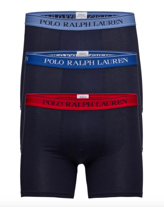 Ralph Lauren 3Pack Boxerky Navy&Sapphire, L - 1