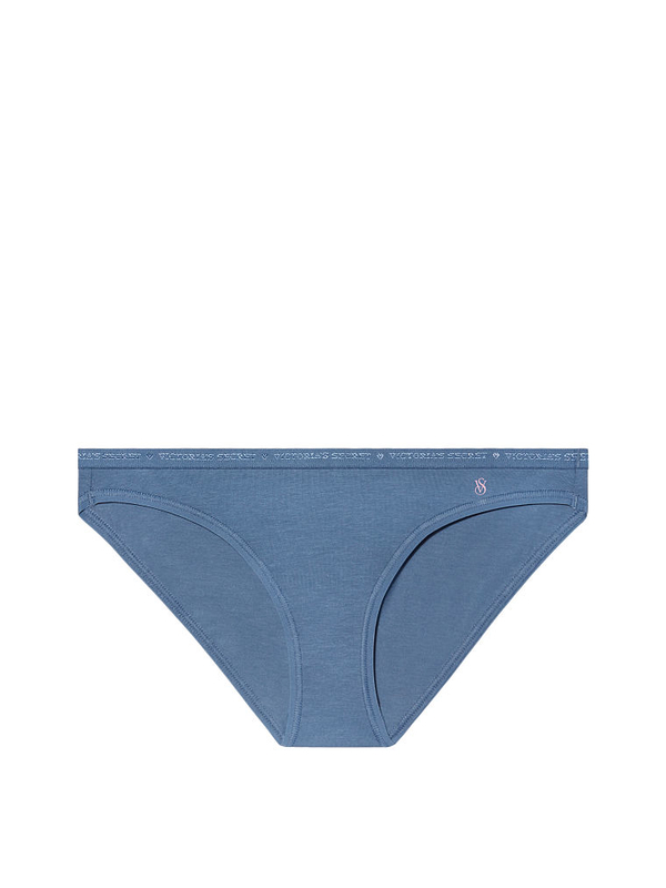 Victoria´s Secret Kalhotky Modré Low Rise, L