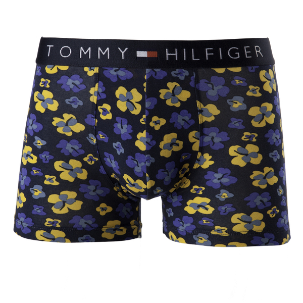 Tommy Hilfiger Boxerky Floral Yellow&Blue, XL