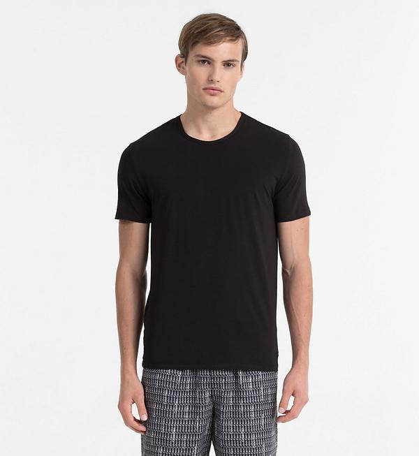 Calvin Klein Pánské Tričko CK Black, S - 1