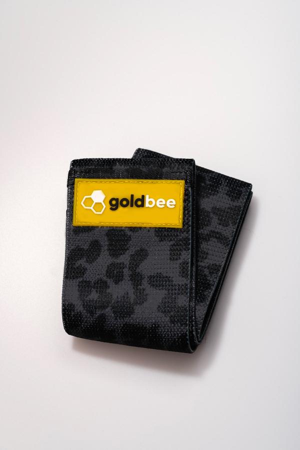GoldBee Textilní Odporová Guma - Černá Tygrovaná, M - 1