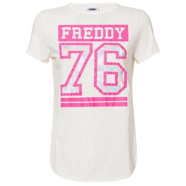 Freddy Tričko Bílo-Růžové, M
