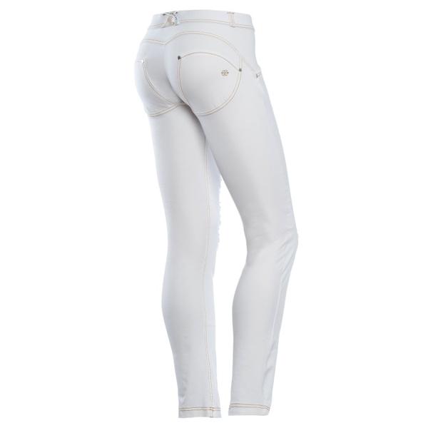 Freddy Jeans Bílé Potrhané Snížený Pas, L - 1