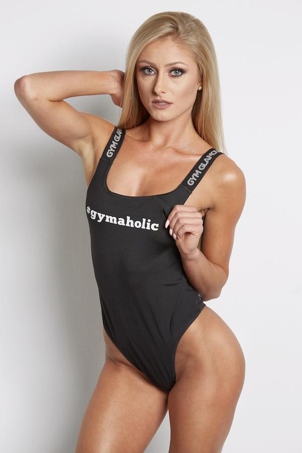 Gym Glamour Bodyčko Černé, S - 1