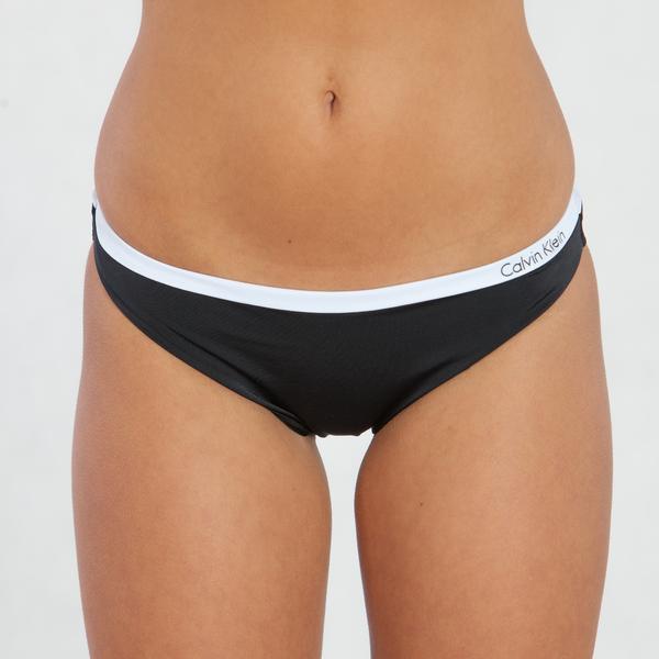 Calvin Klein Plavky Bandeau Černé Spodní Díl, XS - 1