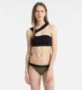 Calvin Klein Plavky Open Cut Black Vrchní Díl, S - 1/3