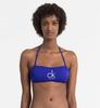 Calvin Klein Plavky NYC Bandeau Modré Vrchní Díl, M - 1/3