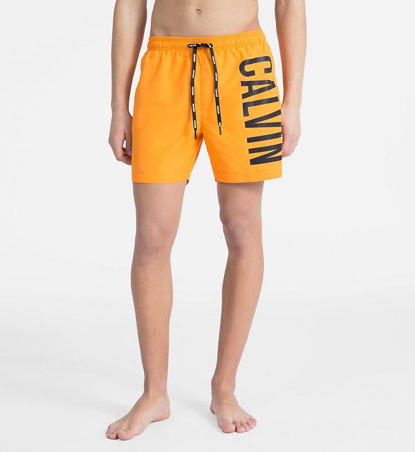 Calvin Klein Plavkové Šortky Intense Power Orange, XL - 1