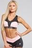 Gym Glamour Podprsenka Pink Zipped, S - 1/3