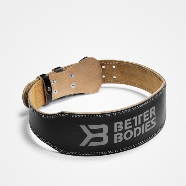 Better Bodies Vzpěračský Opasek Weight Lifting Belt Black, S