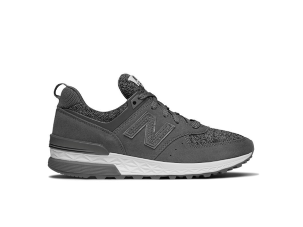New Balance WS574GRS Dark Grey, 3,5