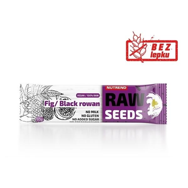 Nutrend Tyčinka Raw Seed Fík&Černý Jeřáb - 1