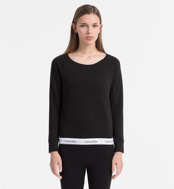 Calvin Klein Mikina Černá, XL - 1