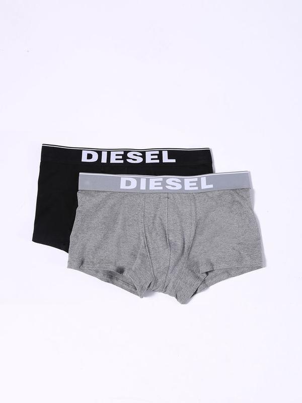 Diesel 2Pack Boxerky Černé &Šedé, L - 1