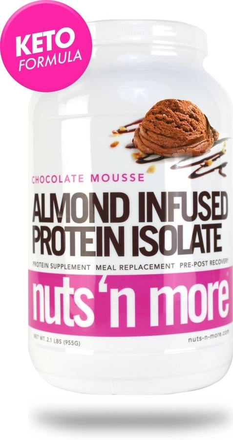 Nuts´n More Protein Isolate Almond Infused Chocolate Mousse - 1