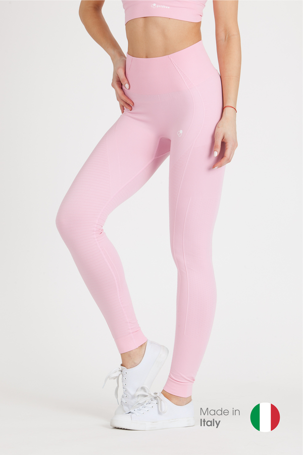 GoldBee Legíny BeSeamless Candy Pink, L - 1