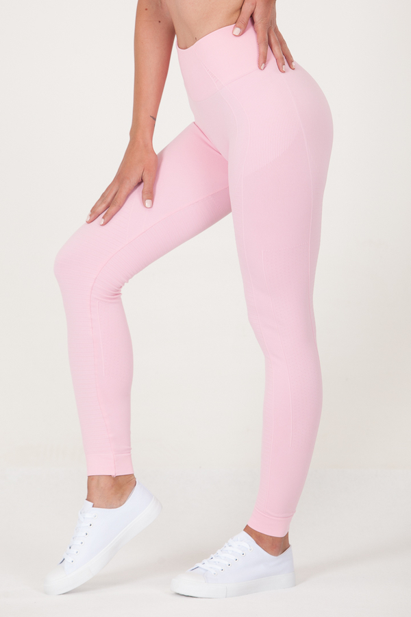 GoldBee Legíny BeSeamless Candy Pink, S - 1