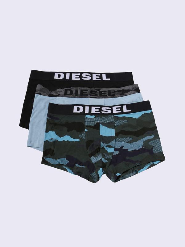 Diesel 3Pack Boxerky Modré, XL - 1