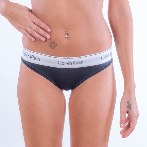 Calvin Klein Bikini - Modern Cotton Black, M - 1