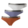 Calvin Klein 3Pack Tanga Red, White And Lila, XS - 1/6