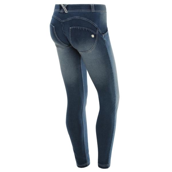 Freddy Jeans Světle Modré Vyšisované Normální Pas SS18, S - 1