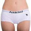 Addicted Kalhotky Bílo-Černé, S - 1/3