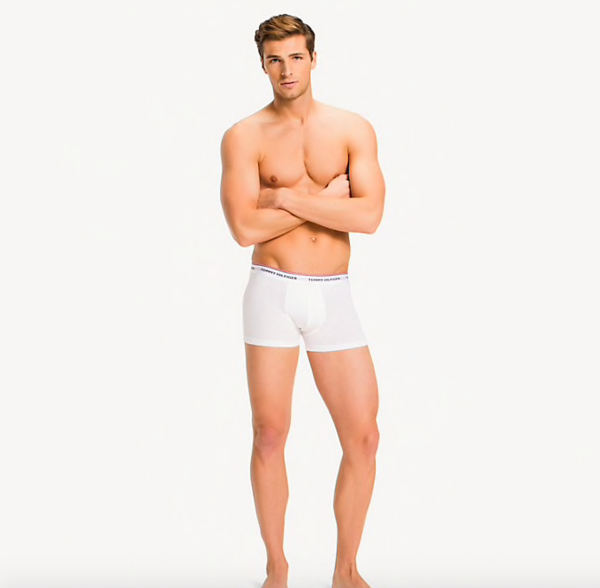 Tommy Hilfiger 3Pack Boxerky White, M - 1