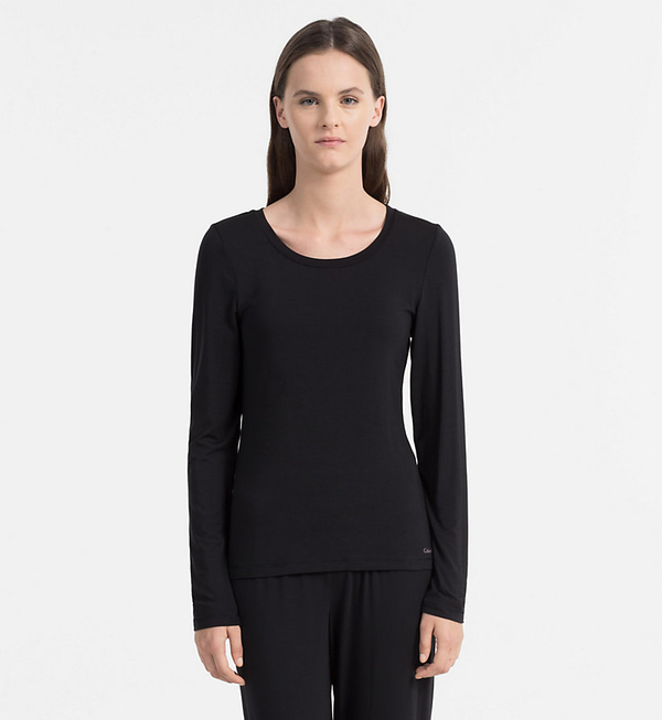 Calvin Klein Triko Sculpted Black, M - 1