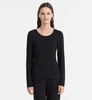 Calvin Klein Triko Sculpted Black, M - 1/4
