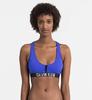 Calvin Klein Plavky Zip Intense Power Modré Vrchní Díl, L - 1/3