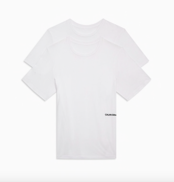 Calvin Klein 2Pack Woman T-Shirts STATEMENT 1981 White