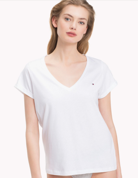 Tommy Hilfiger Women´s Top White, S - 1