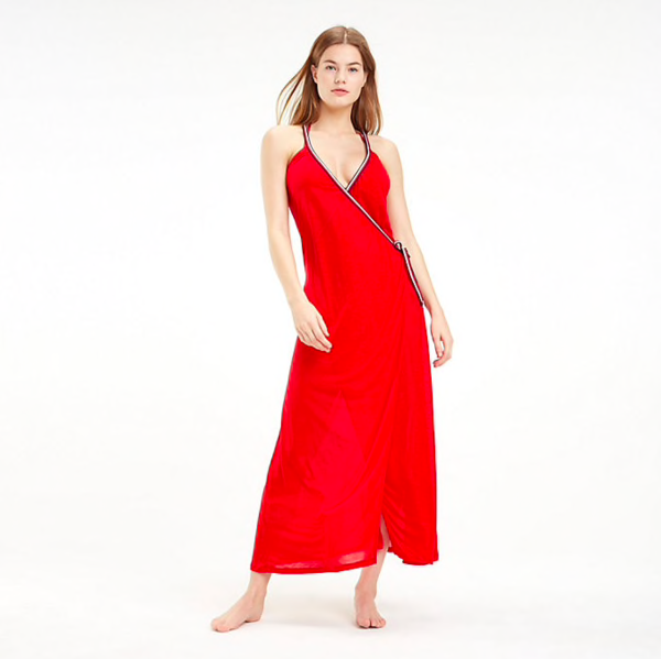 Tommy Hilfiger Šaty Cover Up Red, S - 1