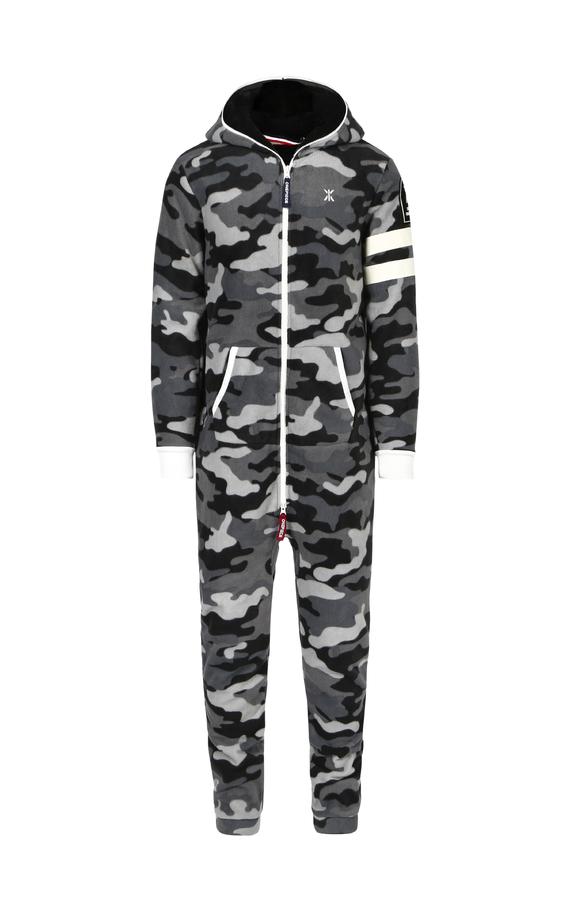 OnePiece Alps Camo Fleece Black - 1