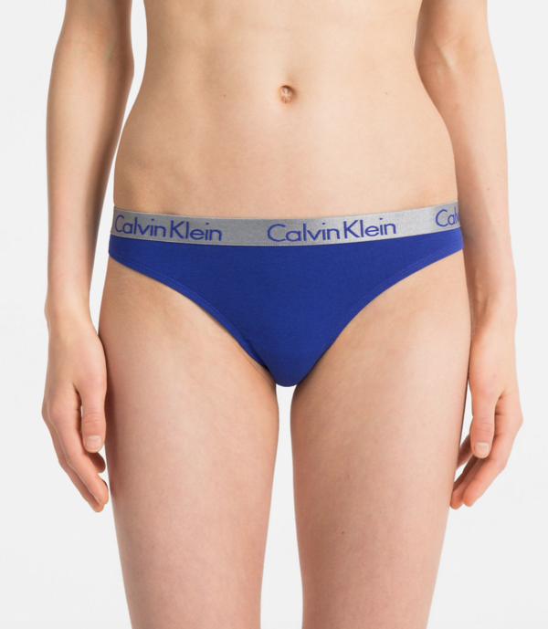 Calvin Klein Tanga Radiant Blue, XS - 1