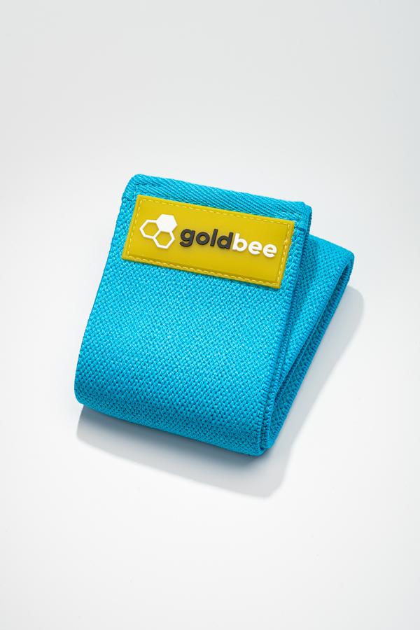 GoldBee Textilní Odporová Guma - Modrá, S - 1
