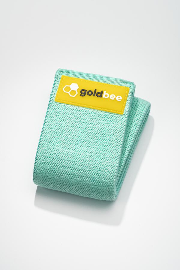GoldBee Textilní Odporová Guma - Tyrkysová, M - 1