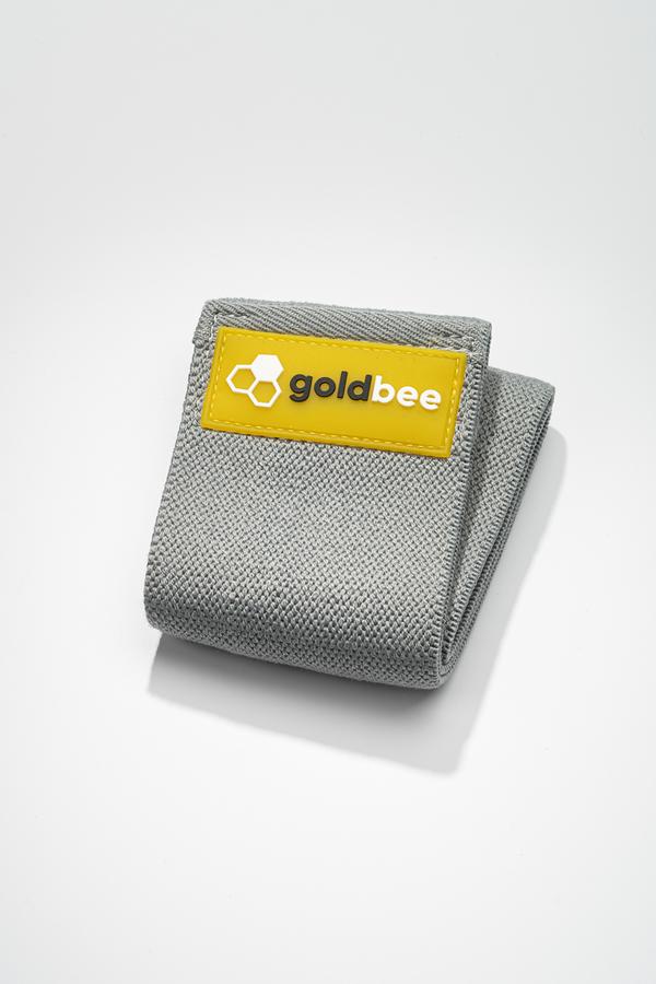 GoldBee Textilní Odporová Guma - Tmavě Šedá, S - 1