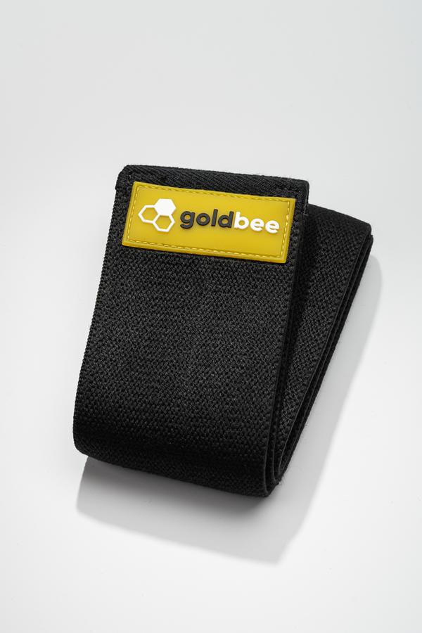 GoldBee Textilní Odporová Guma - Černá, L - 1