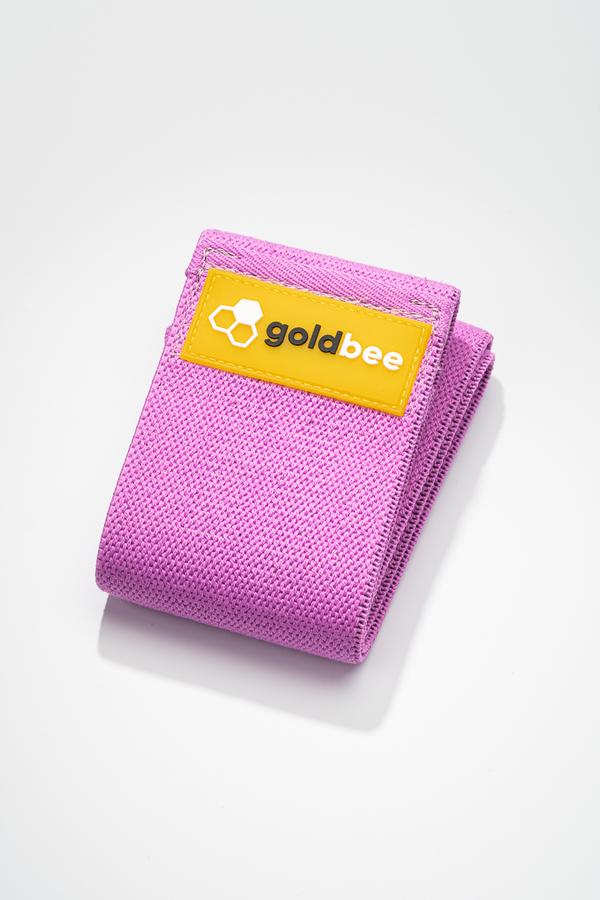 GoldBee Textilní Odporová Guma - Fialová, L - 1