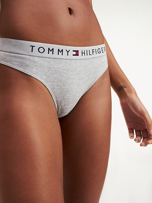 Tommy Hilfiger Tanga Tri-Colour Grey, XS - 1