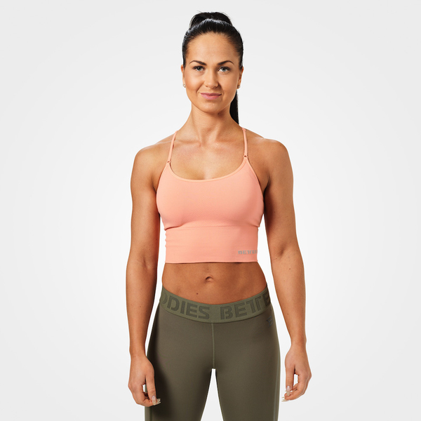 Better Bodies Podprsenka Astoria Seamless Peach, M - 1