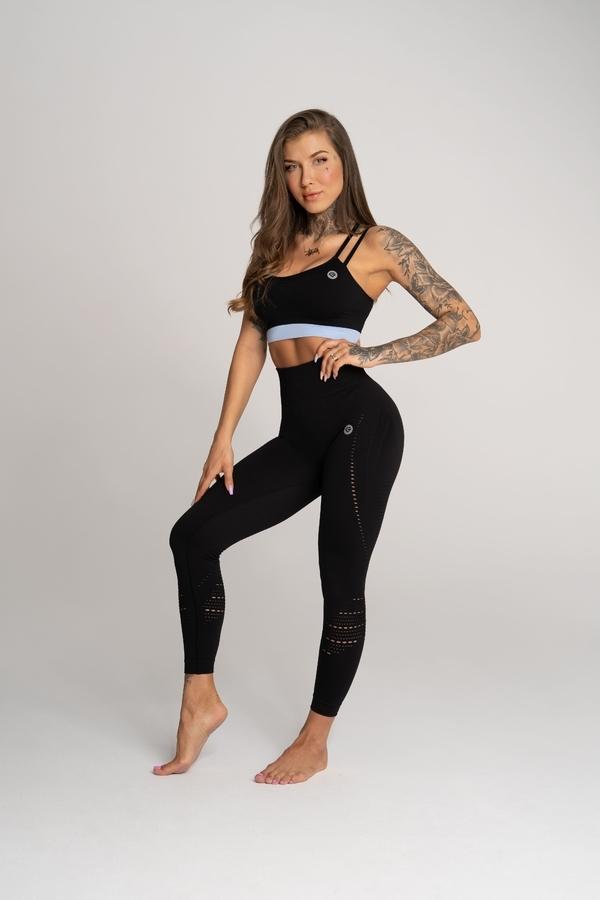Gym Glamour Legíny Deynn Černé, XS - 1