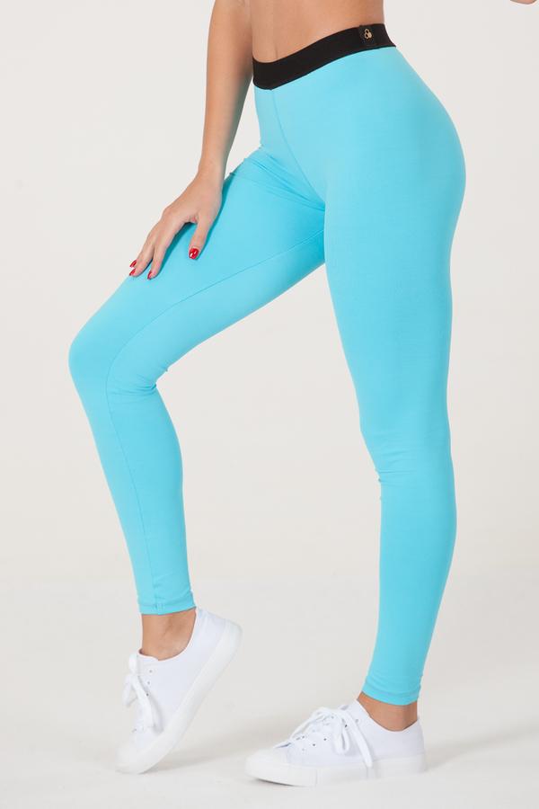 GoldBee Legíny BeOne Turquoise - 1