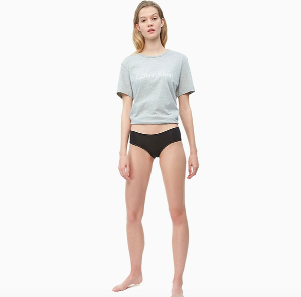 Calvin Klein Hipster Kalhotky Černé - 1