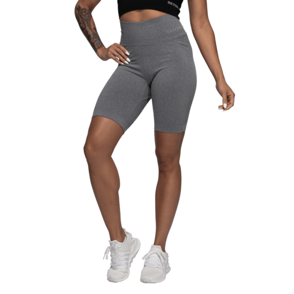 Better Bodies Kraťásky Rib Seamless Grey Melange, S - 1