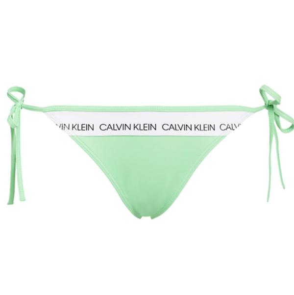 Calvin Klein Plavky CK Logo Green Spodní Díl, M