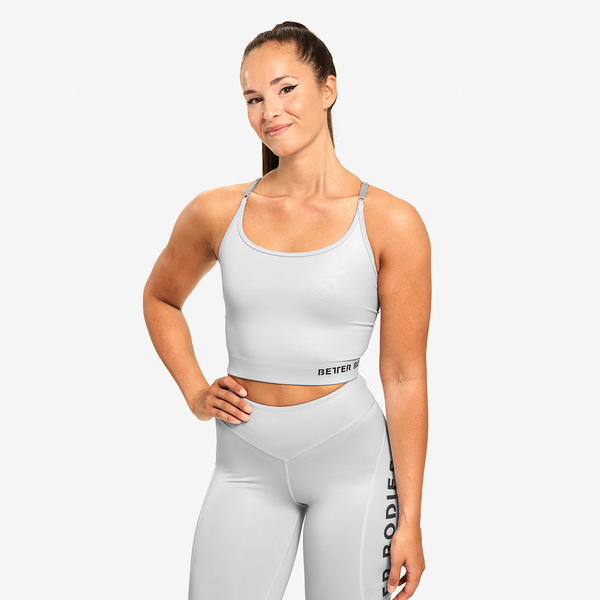 Better Bodies Top Vesey Strap Frost Grey, M - 1
