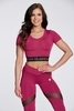 Crop-Top Gym Glamour Raspberry - 2/2