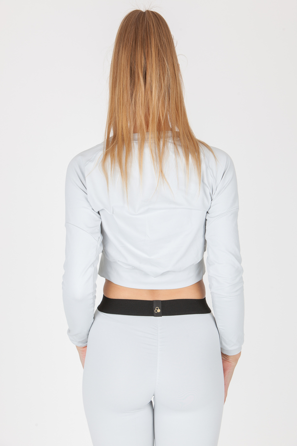 GoldBee CropTop BeCool Bright Silver, S - 2